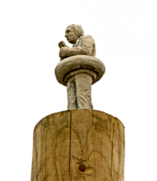 Isaac Cordal, climate change, Belgium, waiting